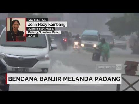 Banjir Melanda Padang, Ratusan Warga Mengungsi