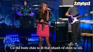 Hannah Montana Forever: Wherever I Go - Miley Cyrus - Vietnamese Lyrics - ZztytyzZ