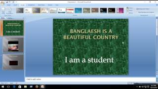 powerpoint presentation animation bangla tutorial - Thủ thuật máy