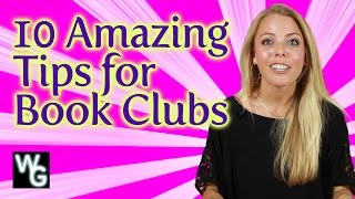 10 Tips for Amazing Book Clubs