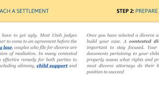How to Avoid the Ugliness of Contested Divorce?