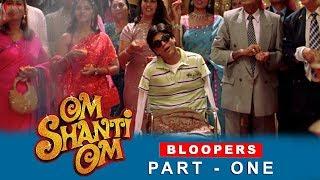 Om Shanti Om | Bloopers | Shah Rukh Khan, Deepika Padukone | A film by Farah Khan