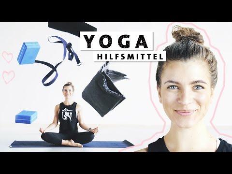 Yoga Anfänger Hilfsmittel | Yogamatte, Klotz & Co | Was braucht man zum Yoga wirklich