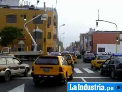 Semáforos en Trujillo