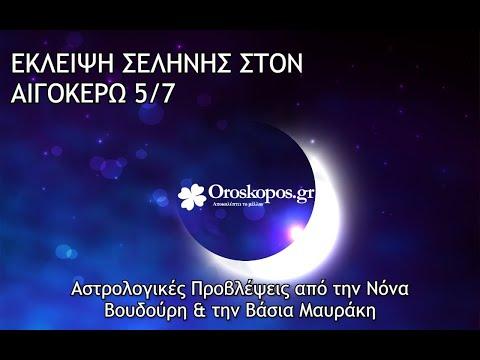 Έκλειψη Σελήνης στον Αιγόκερω 5/7 : Πώς μας επηρεάζει;