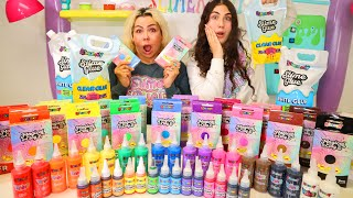 WHO CAN MAKE THE BEST SLIME WITH SLIMEATORY SLIME SUPPLIES!