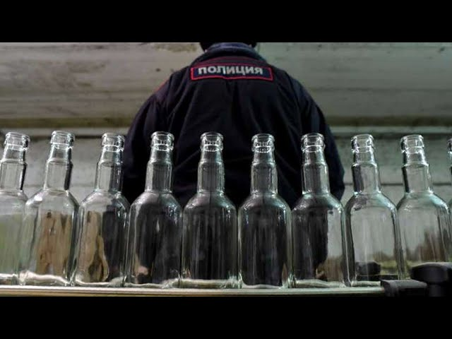 В Приангарье арестовали крупную партию суррогатного алкоголя
