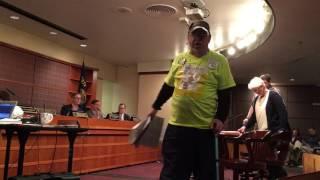 "Protester tells Portland Mayor to ""Shut Up!"""