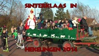 Sinterklaas in Hekelingen 2014