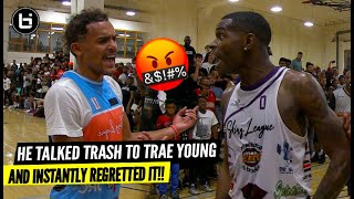 Trash Talker Challenged Trae Young...And Instantly Regretted It!