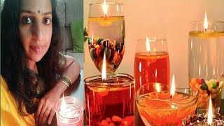 Water Candle Decoration Ideas For Diwali,floating Candles,DIYA Decoration