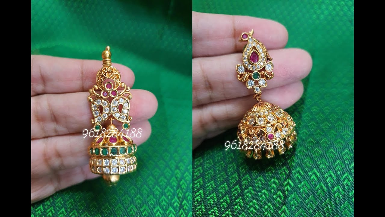 Latest one gram gold jewellery collection.