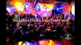 SalsaRica Osaka Xmas Party 2018