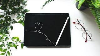 Pokochałam robić notatki – iPad, Apple Pencil i nauka 📝 | Hania Es