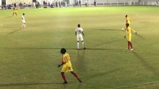 هدف بكري المدينة المريخ ضد المنتخب القطري معسكر قطر24/12/2016
