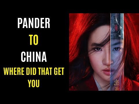 Pandering To China FAILED Mulan Releasing On Disney Plus