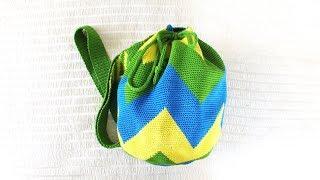 Колумбийская сумка-мочила. Сумка-торба, сумка-ведерко. Моя любимая летняя сумка