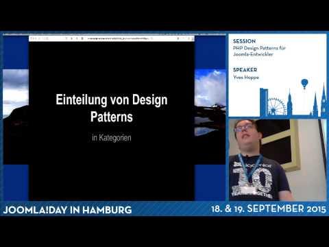 PHP Design Patterns für Joomla-Entwickler