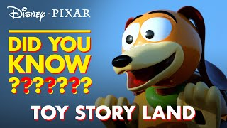 Toy Story Land Easter Eggs | Pixar Did You Know