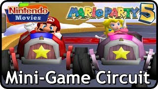 Mario Party 5 - Mini-Game Circuit (2 Players, Intense Difficulty)