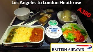 TRIP REPORT | British Airways A380 (ECONOMY) | Los Angeles To London Heathrow (BA268)