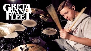 Greta Van Fleet (When The Curtain Falls) Drum Cover