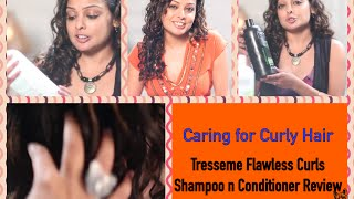 Curly Hair Care Tips   Review - Tresemme Flawless Curls Shampoo & Conditioner