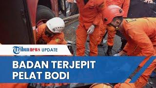 Pakai Alat Ekstrikasi untuk Evakuasi Penumpang Kecelakaan Bus di Kulon Progo, Terjepit Pelat Bodi