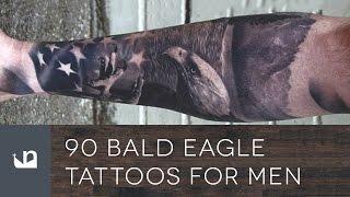 90 Bald Eagle Tattoos For Men