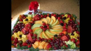 Easy Fruit Platter Decoration Ideas