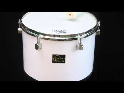 drum-tec Classic Line Marching Tenor Drum / Fan-Trommel 14
