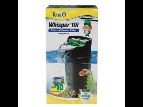 Tetra Whisper 10i Power Filter Review