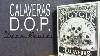 Calaveras Cards - Dead On Paper - Deck Review