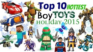Buterflycandy's Top 10 HOTTEST Boy Toy Brands for this Holiday Season 2015 Countdown