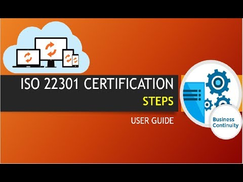 ISO 22301 certification steps| Business Continuity certification| ISO ...