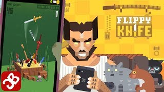 Flippy Knife - iOS/Android - Gameplay Video By Beresnev Games