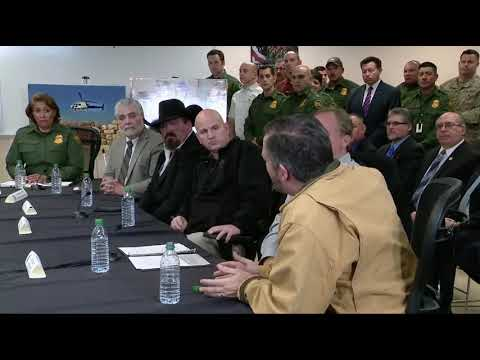 Sen. Cruz Delivers Remarks at Roundtable with Pres. Trump, Local Officials on Border Security
