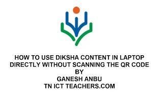 diksha app qr code download for laptop - Thủ thuật máy tính - Chia
