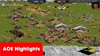 AOE Highlights-Hai lần chống 120 cung R kẹp chém của đối phương No1 đi vào sử sách của cung A Minoan