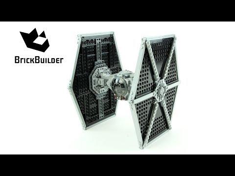 Vidéo LEGO Star Wars 75211 : Le TIE Fighter impérial