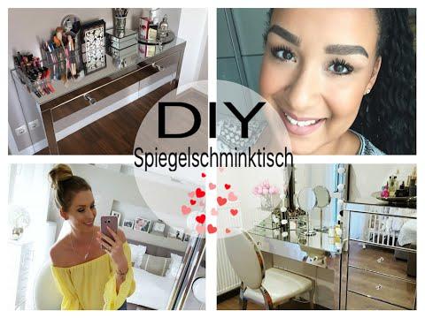 DIY SPIEGELSCHMINKTISCH I Idee von Saskiasbeautyblog I Pimp my Schminktisch I uniquemaryii