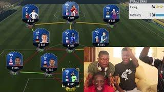 OMG FULL FIFA 17 TOTY !!!