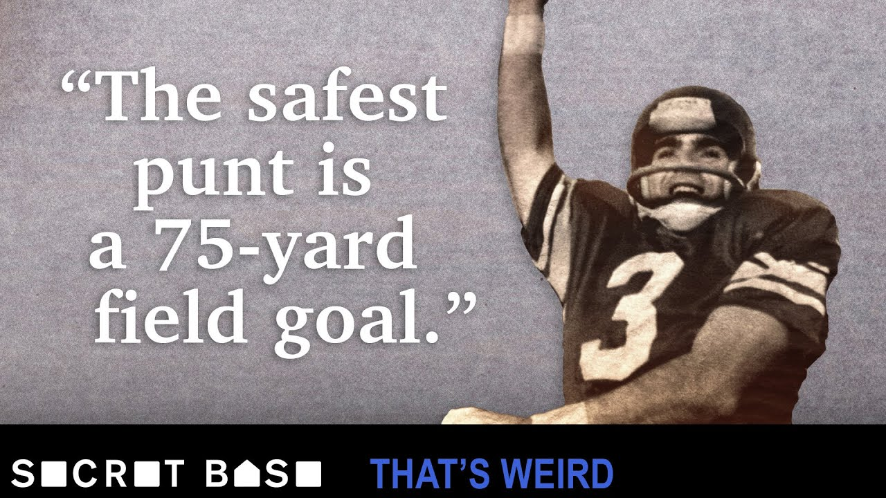 This loophole made 75-yard field goal attempts safer than punting thumbnail