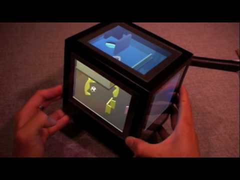 PCubee Interactive Display Puts 3D In Three Dimensions