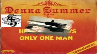 Heaven Knows/Only One Man - Donna Summer ‎1978 (Facciate:2)