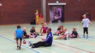 Handball Warm-up exercises U10 & U12, Denmark