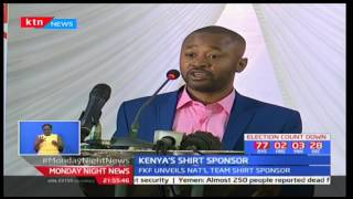 FKF signs a three year deal with Mafroto kit all national teams