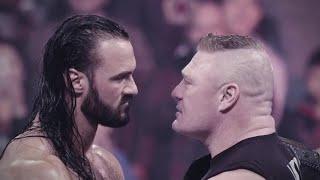 WWE Champion Brock Lesnar battles Drew McIntyre at WrestleMania
