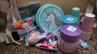 Download Target Vs Walmart Unicorn Birthday Party Shopping Haul