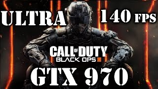 Call Of Duty Black Ops III - Testing Nvidia GTX 970 - 140 fps - FIRST LOOK @Ultra @60fps @1080p